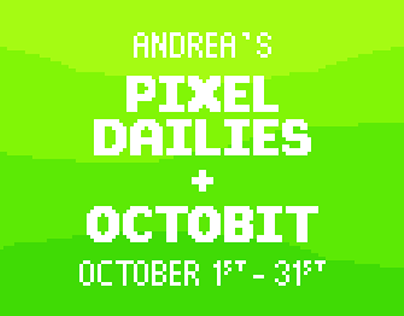 My Pixel Dailies - October 2019