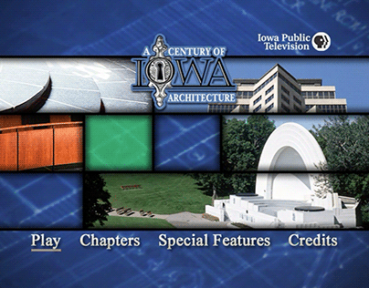 A Century of Iowa Architecture | DVD Menus