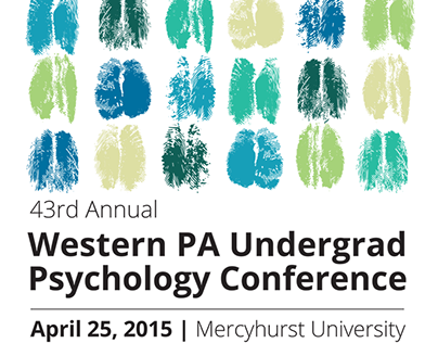 Western PA Undergrad Psychology Conference Collateral