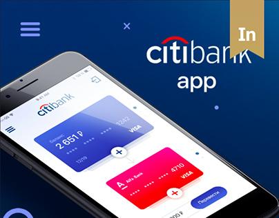 Citi Bank Concept APP