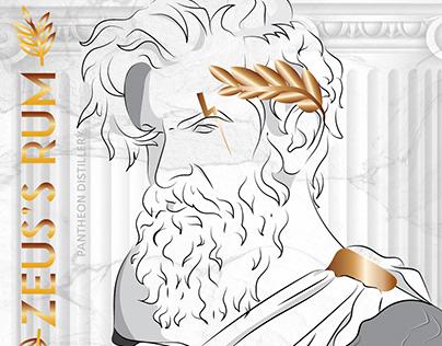 Pantheon Distillery: Drinks of the Greek Goddess