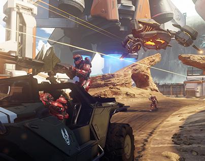 Halo 5: Guardians: 2014 - 2016