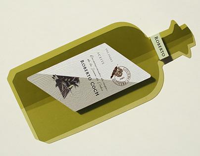 Wine & Oil Labels, Roberto Coch