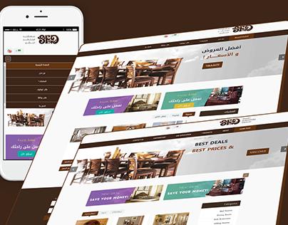 smart furniture design UI