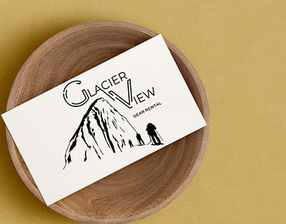 Glacier View Logo