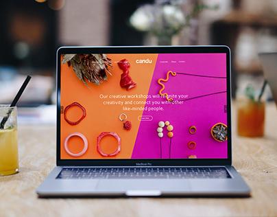 Candu Creative - Website Design