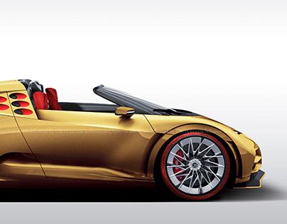 2020 Bugatti Centodieci L'Or Roadster