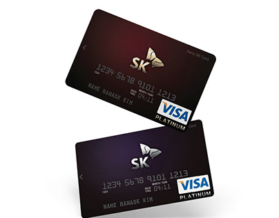 SK Group Credit Card Design