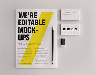 Stationery/Branding Mock-ups Set 1