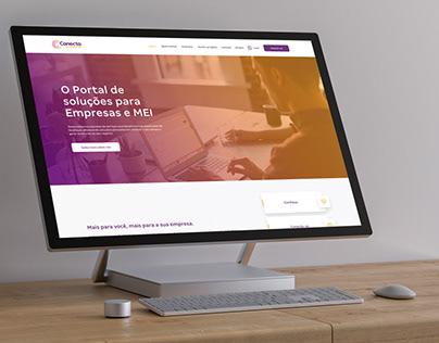 Conecta Empreenda - Website