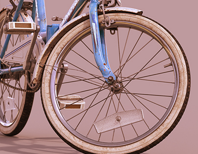 Universal Vintage Folding Bicycle