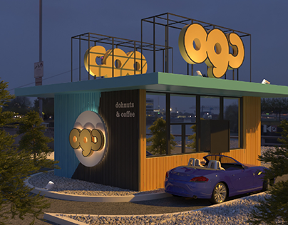 Drive Thru for Cafe