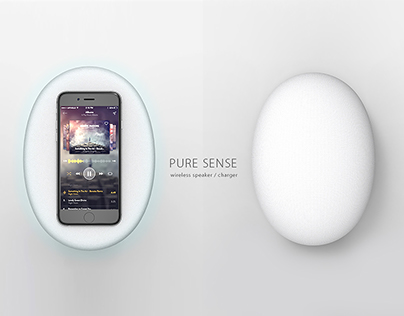 PURE SENSE - wireless speaker / charger