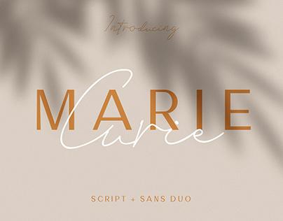 Marie Curie - Sans & Script