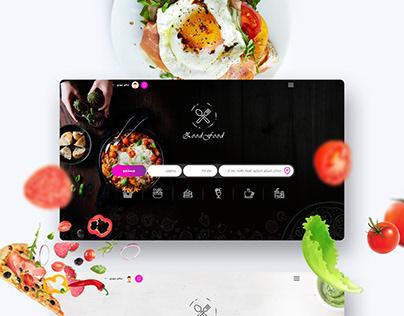 Food Ordering Landing page