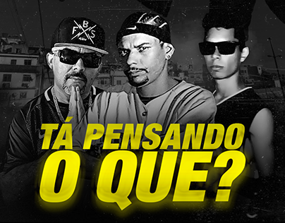Lyric Video - Ta pensando o que? Latoso feat Mano Edu