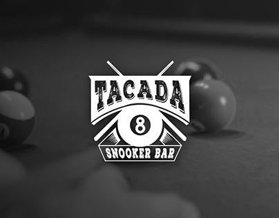 Logotipo Tacada Snooker Bar