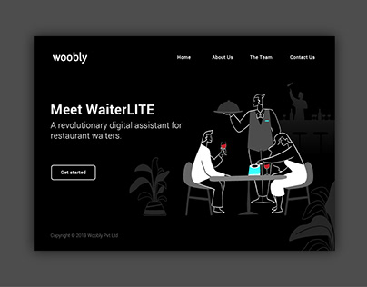 Woobly Landing Page