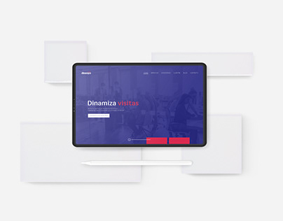 Dinamiza · Branding & Web