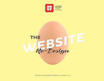 AANT - WEBSITE REDESIGN