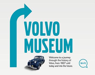 Volvo Museum - Billboard