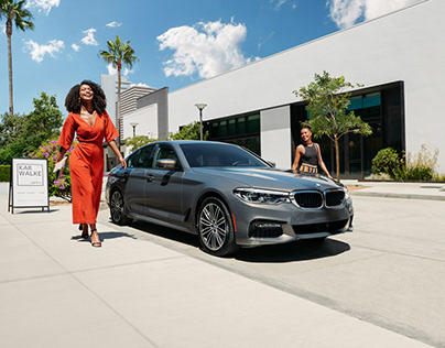 BMW Diversity Commercial Car Photoshoot | Caleb Kuhl