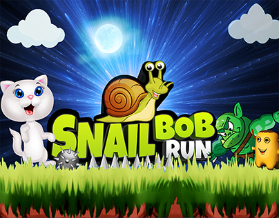 snail bob run adventure