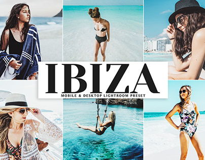 Free Ibiza Mobile & Desktop Lightroom Preset