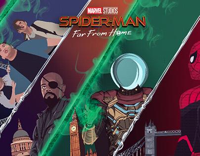 Spiderman far from home fan art