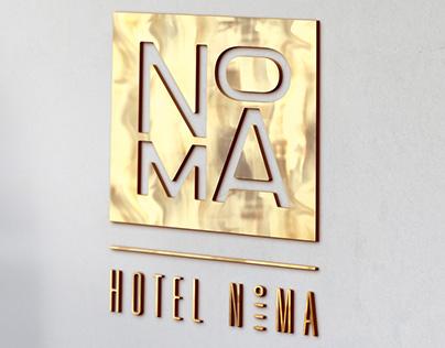 Hotel NoMA Brand Identity
