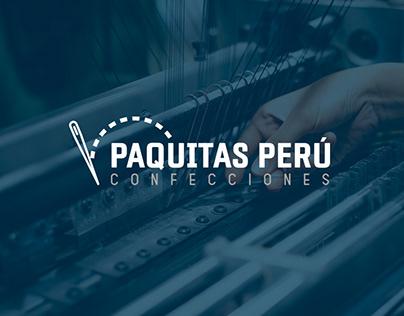 Diseño web - Paquitas Perú