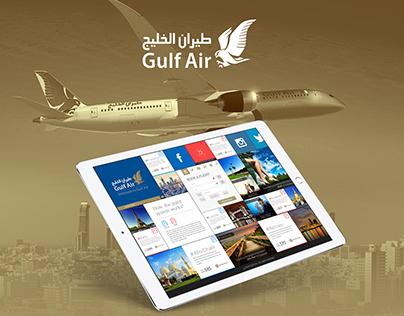 Gulf Air | Web Design