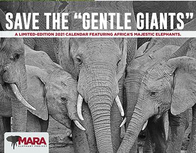 2021 Calendar: The Mara Elephant Project
