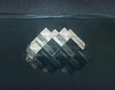 "TIMELAPSE ""Iridium"" EP front cover"