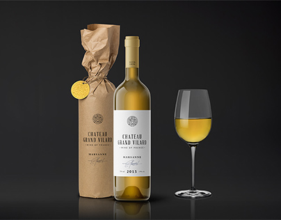 Wine Packaging Mockups