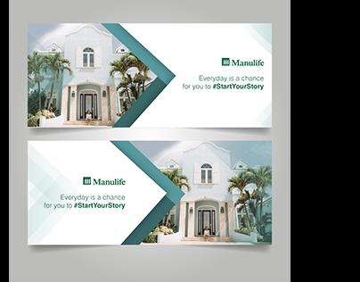Manulife web ads
