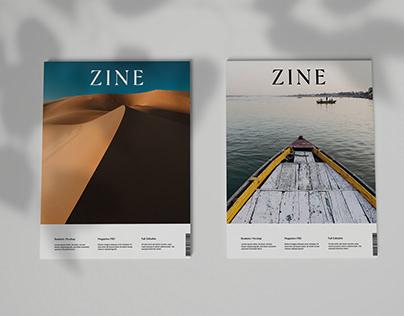 3D Magazine Mockup