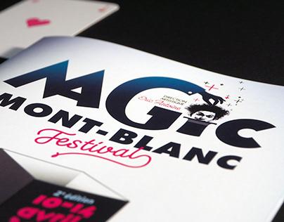 Chamonix Magic Mont-Blanc Festival visual identity