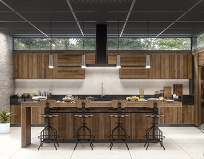 OAK 2 kitchen