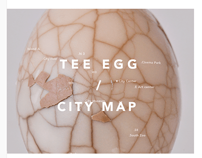 Tee egg / City map