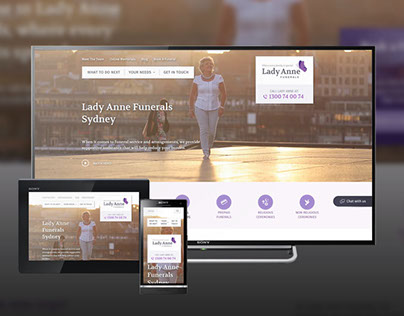 Lady Anne Funerals Website