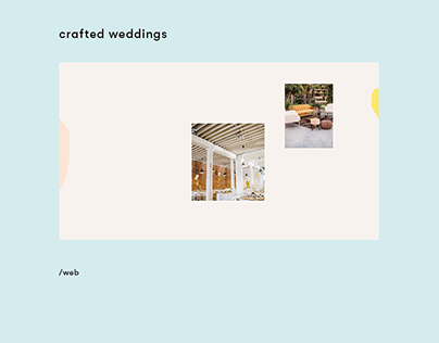 crafted weddings