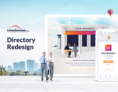 LinenServices Directory Redesign
