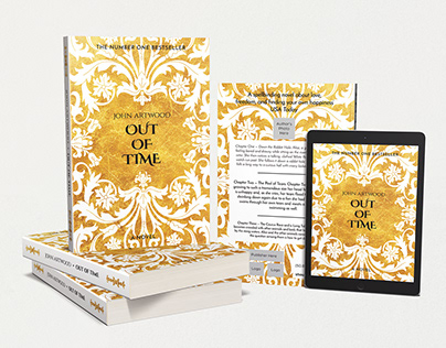 OUT OF TIME Book Cover Template