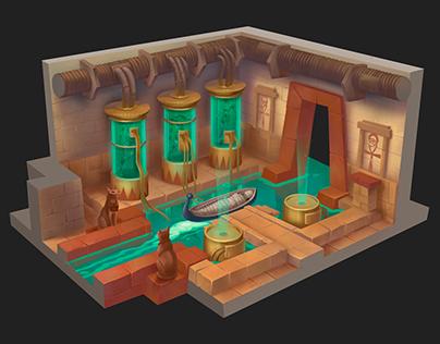 egyptian laboratory