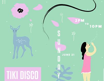 TIKI DISCO poster series