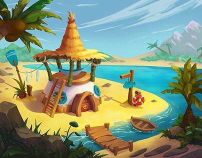 A fisherman's cabin