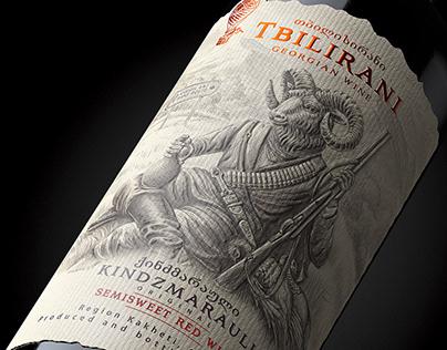 "Georgian wine ""TBILIRANI"""