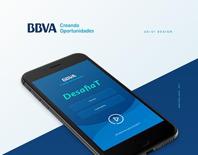 App Design · UX/UI · BBVA QUIZ