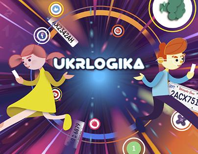 Ukrlogika — counting game
